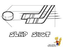 slap shot hockey printables hockey gear players free