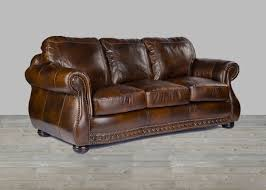 Leather Upholstery Sofa Anchor Bay Collection Top Grain Leather Sofa In Chesterfield