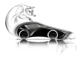 bugatti car drawing bugatti supersport u0026 aerolithe u2013 alexia steunou jobin