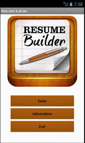 Online Fresher Resume Creator by Resume Builder Android Apps On Google Play