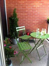 Lime Green Bistro Table And Chairs Balcony Chelsea Transplant