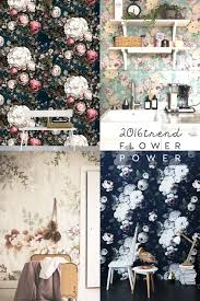 floral home decor interior trends 2016