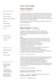 Construction Engineer Resume Sample Engineering Resume Process Engineer Cv Engineering Cv Template