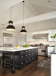 white kitchen cabinets with black island white kitchen with black island morespoons 54058ea18d65