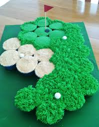 Golf Course Pullapart Cupcake Cake Cupcakes Could Create Other