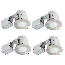 shower recessed lighting kits recessed lighting the home depot