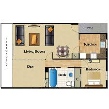 1 bedroom home floor plans one two bedroom apartments for rent la palma apartments