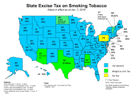 Map Of State by Nato Tobacco Tax Maps