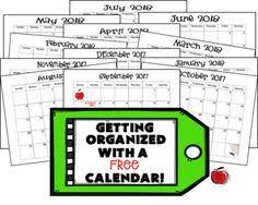 calendars teacher calendar template printable 2017 2018 teacher planning calendar template planning