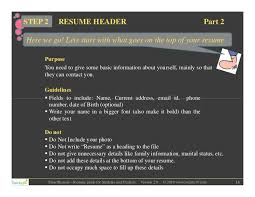 guidelines for what to include in a resume resume guide for students and freshers