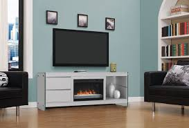 press clips twin star home sleek and modern tv stand with electric