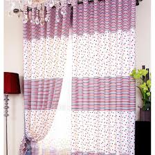 White And Navy Curtains Lovely Striped White Navy Yarn Sheer Curtains