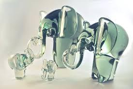 ngwenya glass elephant big five crafts