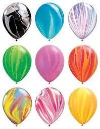 qualatex balloons qualatex tie dye agate balloons jeckaroonie balloons