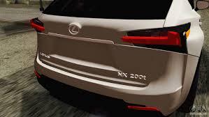 lexus nx review dubai lexus nx 200t for gta san andreas