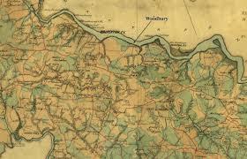 Virginia On Map by 1865 U201cgilmer U201d Map Caroline U0027s Journal
