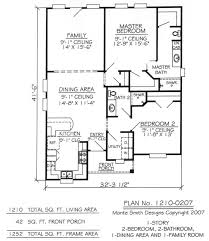 2 bedroom 1 bath house plans two bedroom 2 bath house plans luxihome