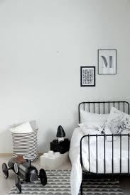chambre enfant vintage chambre enfant en noir et blanc 25 idées à copier