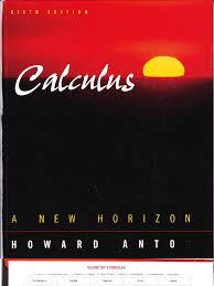 anton calculus a new horizon