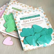seed paper wedding favors flutter heart confetti favor plantable seed wedding favors