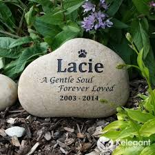 pet memorials memorial pet stones for gardens home outdoor decoration