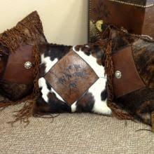 Cowhide Pillows Cowhide Pillows Rugs Signature Cowboy Western Decor