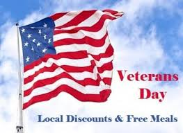Rio Buffet Local Discount by 2017 Local Veterans Day Deals For Veterans Military Benefits