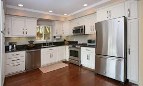 off white kitchen cabinets with stainless appliances 2124 reservoir street echo park cool
