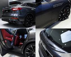 suv maserati larte design tuning package for the maserati levante s torque