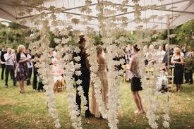 Wedding Garden Decor Eco Friendly Melbourne Wedding Ruffled