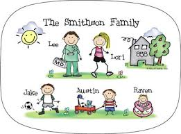 personalized family platters personalized family melamine platters by the personal note use
