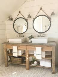 Cow And Chicken The Girls Bathroom Farmhouse Master Bathroom Final Reveal Twelve On Main