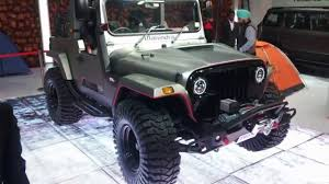 classic jeep modified all new modified mahindra thar first look mahindra 4x4 car in