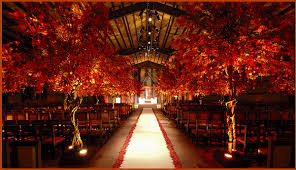 fall themed wedding tbdress decorate your wedding with the awesome fall wedding theme