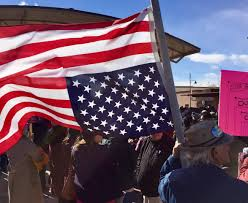 Ou Flag Women U0027s March Draws 1 500 People In Las Cruces Nmpolitics Net