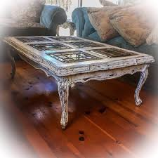 antique white distressed coffee table sold matching french glass top coffee table antique sofa table
