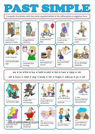 139 best past simple images on pinterest english grammar