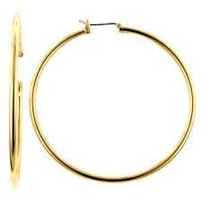 large gold hoop earrings jennifers 175 inch large gold hoop earrings as seen in