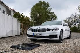 bmw wireless charging 530e from 2018 with inductive charging