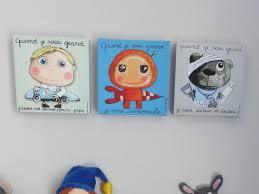 tableau chambre bébé à faire soi même impressionnant tableau chambre inspirations avec charmant tableau