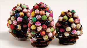 diy christmas pinecone projects youtube