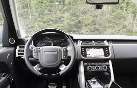 range rover sport dashboard suv review 2014 range rover supercharged driving