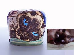 pet urns for cats order your cat mugs and urns susan altenau pottery
