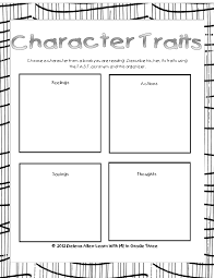 Wemberly Worried Worksheets Character Traits Fast Read Read Read Pinterest