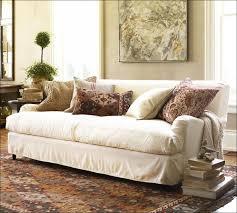 Slipcovers For Three Cushion Sofa Living Room Wonderful Couch Slipcovers With Cushion Covers White