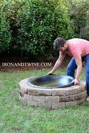 how to build a fire pitthe handmade home outdoor decor