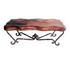 Lone Star Western Decor Coupon Western Furniture Iron Twist Freeform Mesquite Coffee Table Lone