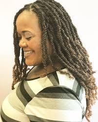 detroit black hair braid style spring twists by embrace hair art southfield michigan natural hair