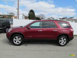 2008 gmc acadia red on 2008 images tractor service and repair