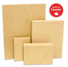 wood canvas wood solid support painting panels gallery style